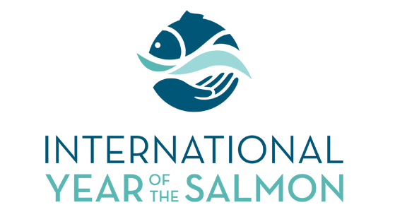 Logo: 2019 is the International Year of the Salmon